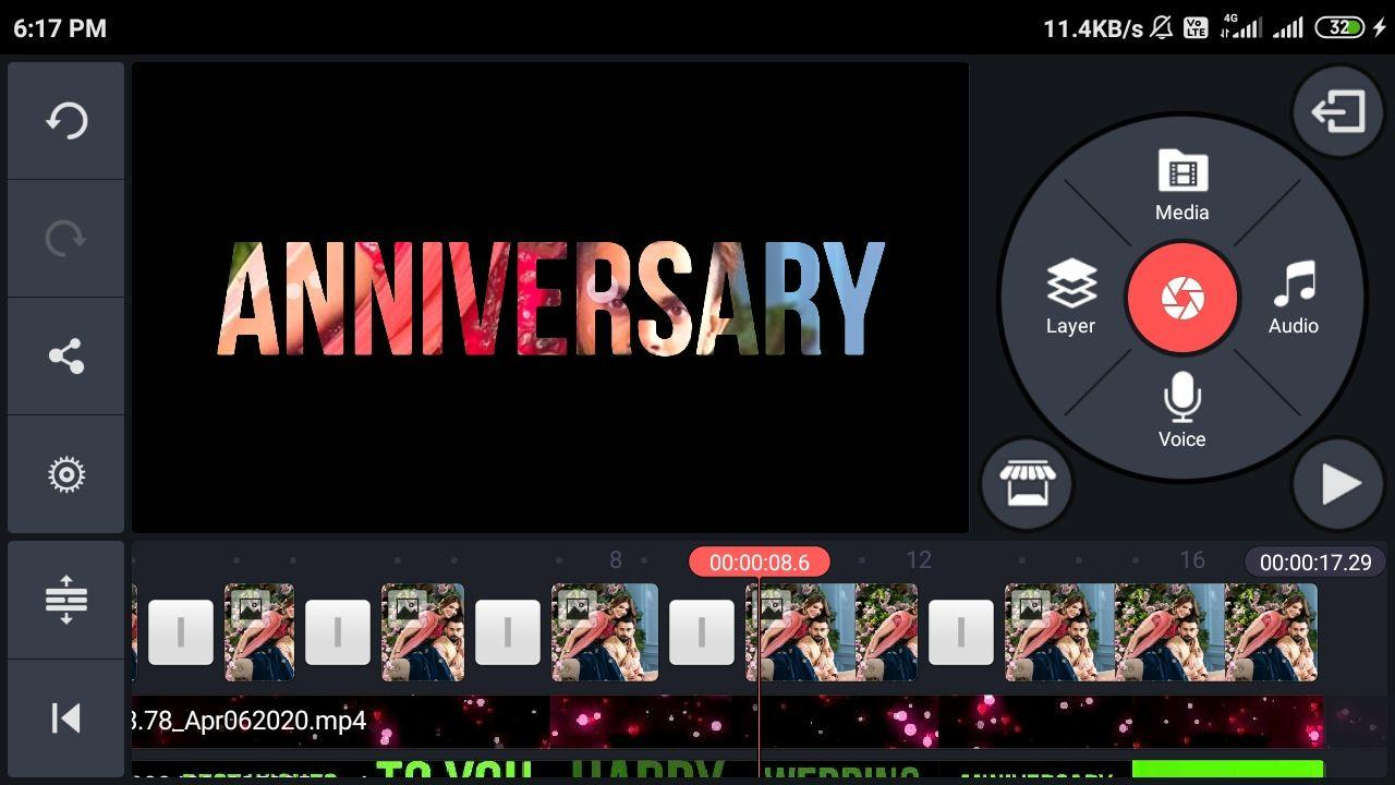 Photo of Wedding anniversary video editing kinemaster |marriage anniversary video background green screen