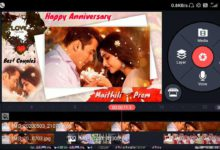 Photo of Wedding anniversary video editing by kinemaster | Marriage anniversary video green screen