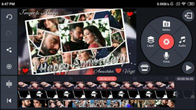 Photo of Marriage Anniversary Video Maker Editing By Kinemaster | Anniversary wishes green screen video