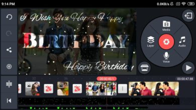 Photo of Happy Birthday Video Maker By Kinemaster | Birthday Green Screen Background Video