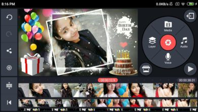 Photo of Birthday Video Maker Editing By Kinemaster | Birthday Green Screen Video Megha