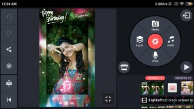Photo of Birthday Full Screen Video Maker In Kinemaster | Happy Birthday Kinemaster Video Editing | Template