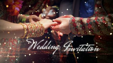 Photo of Make Attractive Wedding Invitation Video For WhatsApp In Kinemaster | Wedding invitation background