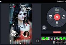 Photo of Birthday Full Screen Status Video Maker By Kinemaster | Birthday Green Screen Video